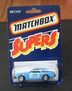 "Lesney Matchbox #25 Blue Toyota Celica GT RARE ""SUPERS"" card Japan JDM Hong Kong"