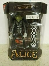American McGee's Alice Mad Hatter Figure gray variant