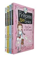 Princess Disgrace 4 Books Series Lou Kuenzler Girls Kids Funny Fun Stories New