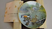 Bradford Exchange Collectors Plate - The Northern Shoveler - 1987
