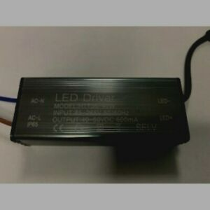 POWER SUPPLY TRANSFORMER LED DRIVER 600mA 36-42W 40-60V for Ceiiling Panel 60x60