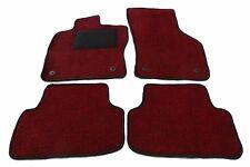 SCHMUTZFANG Teppich Fußmatte in 6 Farben VW Golf 4 5 6 7 Velours + Befestigung