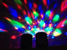 Rechargeable Wireless Bluetooth Speaker DJ Lighting Lamp Smartphone PC Handsfree