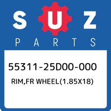 55311-25D00-000 Suzuki Rim,fr wheel(1.85x18) 5531125D00000, New Genuine OEM Part