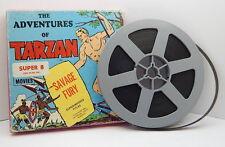 VINTAGE 8mm KEN FILMS THE ADVENTURES OF TARZAN Savage Fury No. 54 R14279