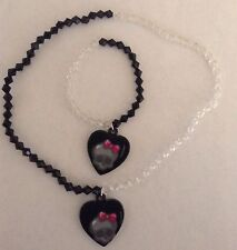 Monster High Bracelet And Necklace Heart Shaped Jewelry Set
