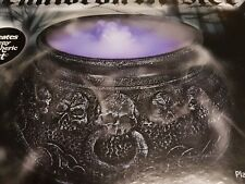 Witches Cauldron Mister mist smoke Halloween Decoration Colour Changing led prop