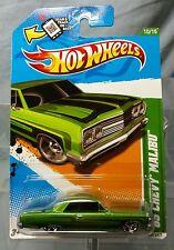 2012 Hot Wheels Treasure Hunts '65 CHEVY MALIBU no. #10 of 15 New on Card