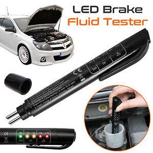 5 LED Bremsflüssigkeitstester Bremsflüssigkeitsprüfer Bremsflüssigkeit KFZ Satz