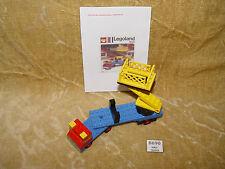 LEGO Sets: Legoland: Construction: 655-1 Mobile Hydraulic Hoist (1973) 100%