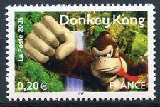 STAMP / TIMBRE FRANCE NEUF N° 3846 ** HEROS DES JEUX VIDEO DONKEY KONG GORILLE