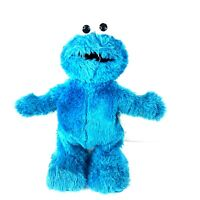 Mattel TMX Sesame Street Tickle Me Cookie Monster 2006 Plush Works Great! 12""