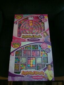 TOTALLY ME ALPHABET BEADS DOUBLE PACK BRAND NEW