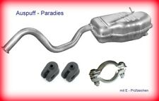 Endschalldämper Auspuff Renault Laguna I 1.6 16V & 1.8 16V Limo & Grandtour +Kit