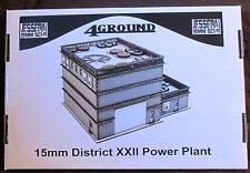 4Ground 15S-JIW-104 15mm Sci-Fi Jesserai District XXII Power Plant Terrain NIB