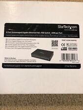StarTech.com IES81000POE 8 Port Unmanaged Gigabit POE Ethernet Switch