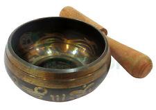 Ciotola armonica campana tibetana rame buddhismo meditazione yoga diametro 8cm