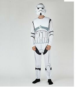 Star Wars Storm Trooper Fancy Dress Adult Costume Halloween- Large/Extra Large