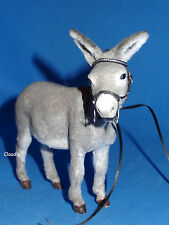 OOAK Realistic Miniature DONKEY Handmade 1:12 High Quality sculpture TUTTI Size