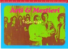 ARTI & MESTIERI Italian progressive rock - postcard - cartolina Nuovo pop Italia