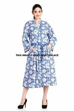 Women Robe Cotton Robes Bridal Wedding Bridesmaid Bride Gown kimono robe Indian