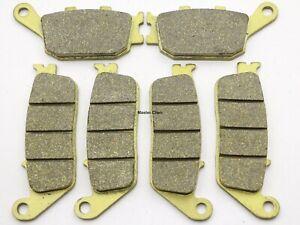 MC Front Rear Brake Pads For Honda CBR 600 F F4I CBR600F4I 2001-2005 2006 Brakes