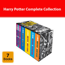 J.K. Rowling Harry Potter Complete Collection 7 books boxed set Fantasy pack NEW