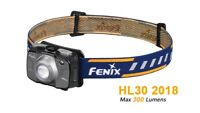 Fenix HL30 2018 Cree XP-G3 White LED & Nichia Red LEDs High-Performance Headlamp