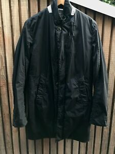 CP Company trench padded jacket black Italy size Small 48 Stone Island Moncler