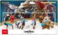 Amiibo Legend Zelda Breath Wild Set DARUK REVALI MIPHA URBOSA Japan