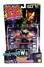Hulk Hogan WCW ToyBiz Smash n Slam Series Action Figure MOC WWE WWF WCW NWO_bx3