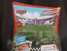 DISNEY PIXAR CARS PIT ROW RACE OFF CHICK HICKS LAUNCHER ROR SAVE 5% WORLDWIDE