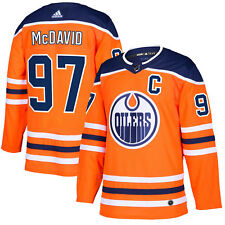Edmonton Oilers adidas Connor McDavid Authentic Pro Jersey Orange M