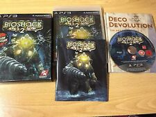 PS3 : BIOSHOCK 2 LIMITED EDITION COLLECTOR + LIVRE EDITION RAPTURE