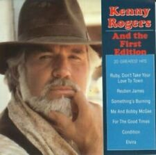 Kenny Rogers 20 greatest hits (& First Edition)  [CD]