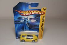 V 1:64 423 HOTWHEELS FERRARI F430 F 430 SPIDER YELLOW MINT ON LONG CARD