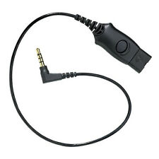Plantronics MO300 3.5mm to QD Plug for Blackberry Nokia HTC Samsung Motorola HTC