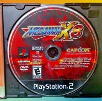 Megaman x8 - PS2 Playstation 2 Rare Game Tested PS2 Mega Man X-8 Capcom X 8