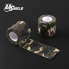 AA Shield Outdoor Camo Tape Camping Bandage Rifle Covert Adhesive/Gun FOREST