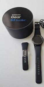 Samsung Gear S3 Frontier Watch SM-R760 - 46mm - Screen Good Condition —-