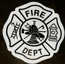 Reflective Helmet Firefighter Maltese Cross