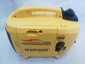 KIPOR Sinemaster IG2000 Digital Generator Petrol for Spares or Repair Only.
