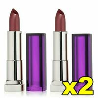 2x Maybelline Color Sensational Lipcolour Lipstick - 425 Plum Paradise FREE POST