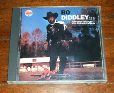 CD: Bo Diddley - Bo Diddley Is a Gunslinger / 1988 Original Chess Masters VG++