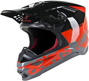 Alpinestars Supertech M8 Offroad ATV UTV Riding Dirt Bike Full Face Helmet
