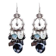 BEAD TASSEL DANGLE DROP EARRINGS Boho Bohemian Gypsy Ethnic Jewellery Gift Idea