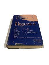 Vintage Book: Pride & Prejudice by Jane Austen Hardcover 1945 WITH LEAFLET