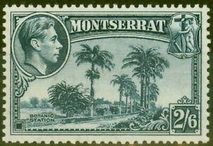 Montserrat 1938 2s6d Slate-Blue SG109 V.F MNH