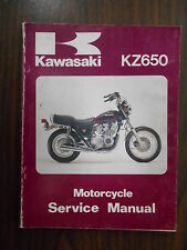 Kawasaki OEM 1981-82 KZ650 Factory Service Shop Repair Manual 99924-1028-02