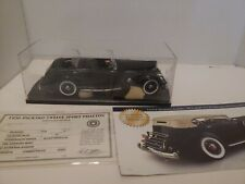 Danbury Mint 1936 Packard Twelve Sport Phaeton